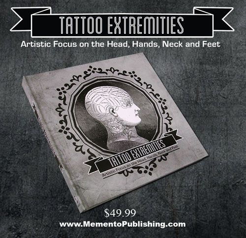Tattoo heads hand and feet